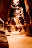 Barranca del antílope, Arizona Imagenes de archivo