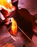 Barranca del antílope, Arizona Foto de archivo