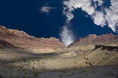 Barranca del desierto Foto de archivo libre de regalías