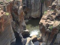 Barranca del río de Blyde Imagen de archivo libre de regalías
