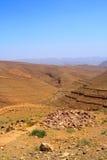 Barranca en Marruecos Fotos de archivo