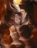 Barranca esculpida del desierto Fotos de archivo