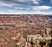 Barranca magnífica Arizona Fotografía de archivo