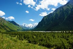 Barranca magnífica de China Xiata. imagen de archivo libre de regalías
