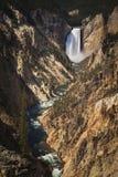 Barranca magnífica de Yellowstone Fotos de archivo