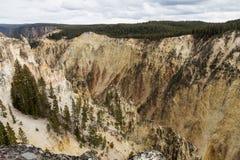 Barranca magnífica de Yellowstone Fotografía de archivo libre de regalías