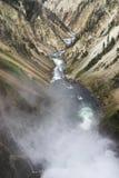 Barranca magnífica del Yellowstone imágenes de archivo libres de regalías