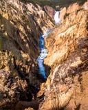 Barranca magnífica del Yellowstone Fotografía de archivo
