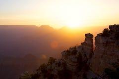 Barranca magnífica en la salida del sol imagen de archivo libre de regalías