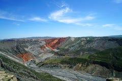 Barranca magnífica colorida Fotos de archivo