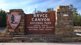 Barranca NP de Bryce Fotos de archivo