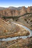 Barranca rocosa Imagen de archivo libre de regalías