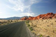 Barranca roja 2 de la roca Fotografía de archivo libre de regalías
