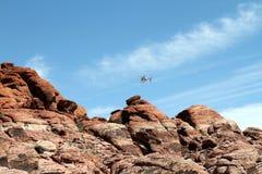 Barranca roja de la roca Foto de archivo libre de regalías