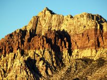 Barranca roja de la roca imagen de archivo