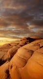 Barranca roja de la roca Fotos de archivo