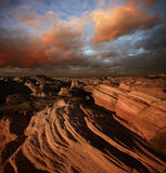 Barranca roja de la roca fotos de archivo libres de regalías