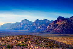 Barranca roja de la roca, Nevada Imágenes de archivo libres de regalías