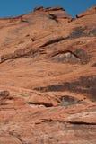 Barranca roja de la roca, Nevada Foto de archivo