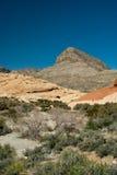 Barranca roja de la roca, Nevada Fotos de archivo libres de regalías
