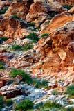 Barranca roja de la roca, Nevada fotos de archivo