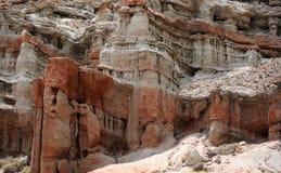 Barranca roja escénica de la roca Foto de archivo