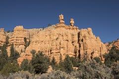 Barranca roja, Utah Imagenes de archivo