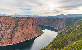 Barranca roja, Utah Imagen de archivo