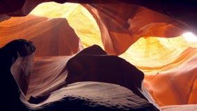 Barranca superior del ant?lope en Arizona almacen de video