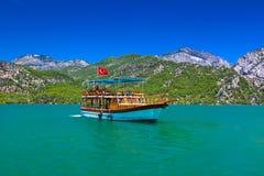 Barranca verde en Turquía Imagenes de archivo