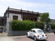 Barranco豪宅和Volkwagen甲虫1300 库存图片