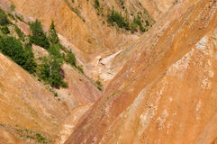 barranco Foto de archivo libre de regalías
