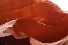 Barranco anaranjado brillante del antílope de la ranura en la reserva de Navajo Imágenes de archivo libres de regalías