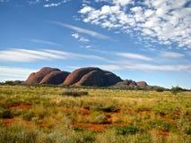 Barranco de Australia interior Olgas Fotos de archivo libres de regalías