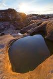 Barranco de 3000 Bok de Ubonratchathani Foto de archivo libre de regalías