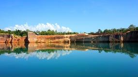 Barranco de Chiangmai, paisaje hermoso Imagenes de archivo