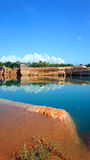 Barranco de Chiangmai, paisaje hermoso Fotos de archivo