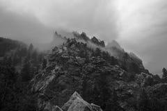 Barranco de Eldorado durante tormenta Fotografía de archivo libre de regalías