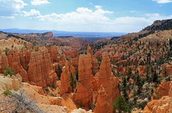 Barranco de Fairieland en Bryce Canyon Fotos de archivo