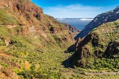 Barranco de Guayadeque - Gran Canaria, Spain Stock Image