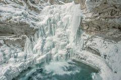 Barranco de Johnston en Banff Imagen de archivo libre de regalías