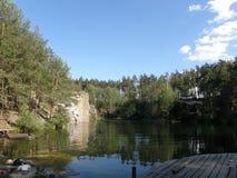 Barranco de Korostyshev Foto de archivo libre de regalías