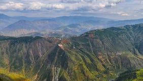 Barranco de Kunming Dongchuan, Yunnan imagen de archivo libre de regalías