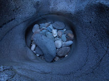 Barranco de la magia negra Fotografía de archivo libre de regalías