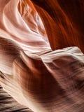 Barranco de la serpiente de cascabel del antílope Foto de archivo