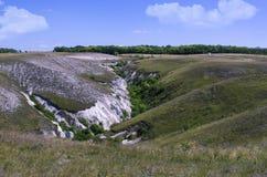 Barranco de la tiza Fotos de archivo