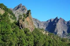 Barranco de las Angustias in La Palma island Royalty Free Stock Photo