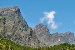 Barranco de las Angustias in La Palma island Royalty Free Stock Photography