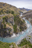 Barranco de los capitanes, isla del sur, Nueva Zelanda Imágenes de archivo libres de regalías