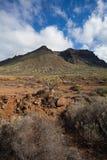 Barranco de Masca Luz y sombra El ir de excursión en el volcán Imagen de archivo